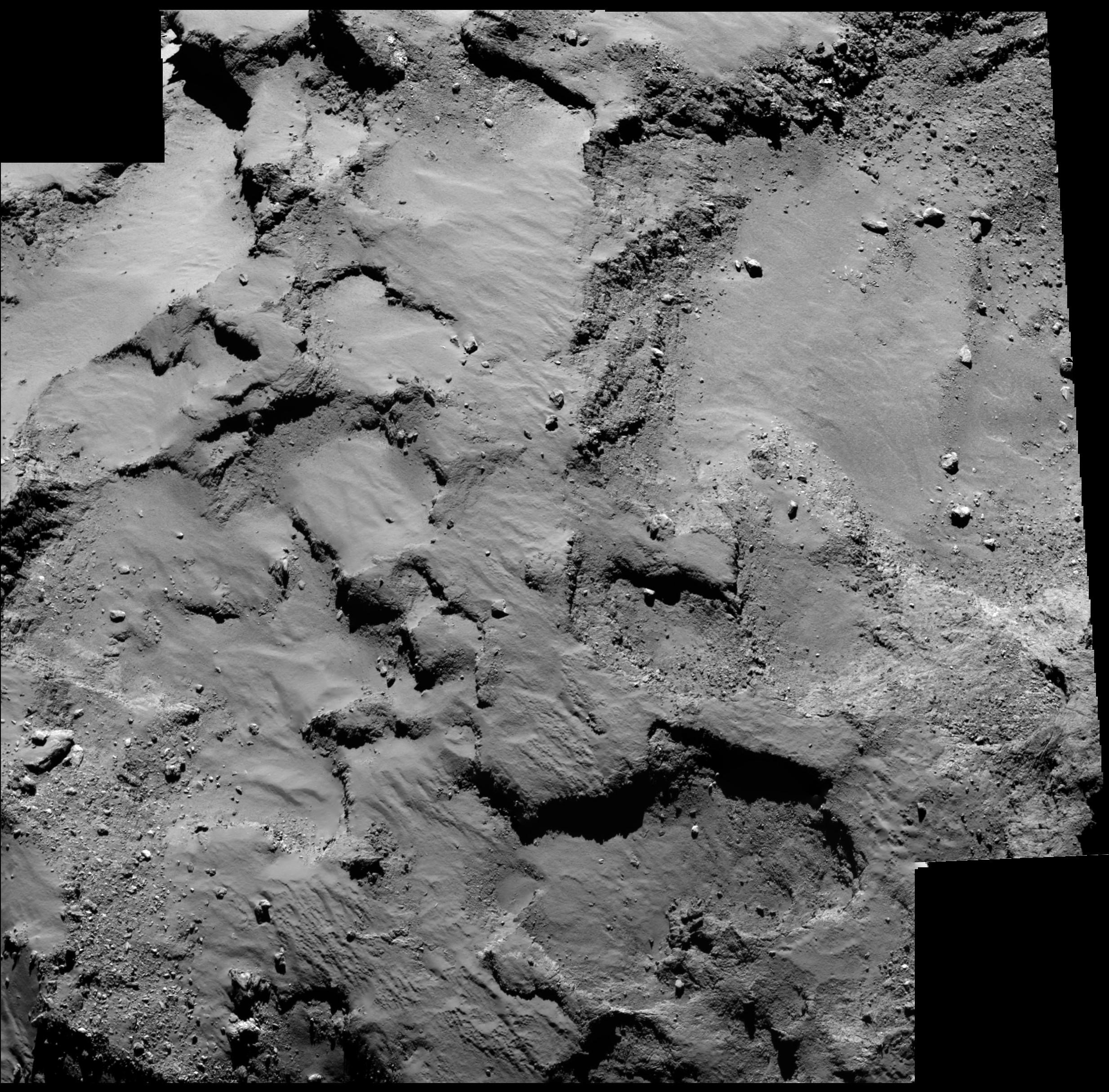 esa rosetta philae landing - HD2048×2048