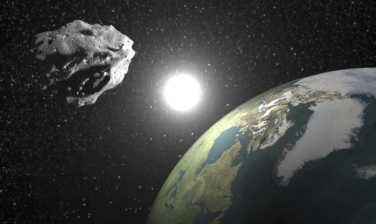 Опасные астероиды прилетают из земля астероиды