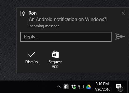 Android-уведомления на Windows 10: как подружить две ОС?