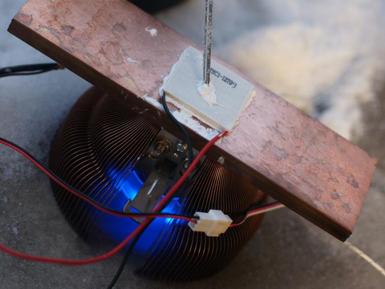 Элемент пельтье на процессор