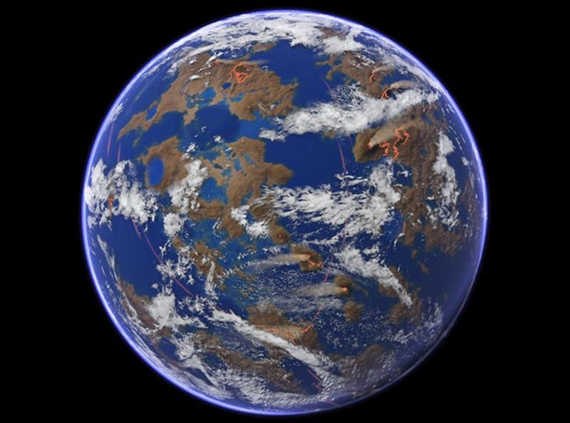 картинки наша планета миллионы лет назад это персонажи сказаний