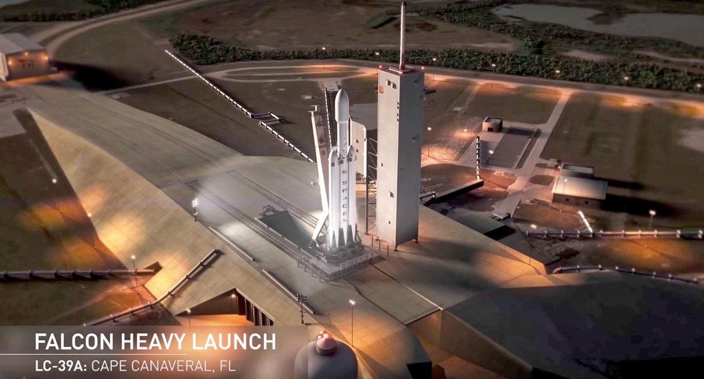 SpaceX запустит Falcon Heavy уже в ноябре