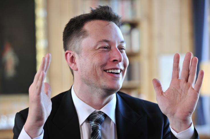 Илон Маск запустил сайт содной буквой