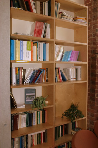 Yandex House: Bibliothek