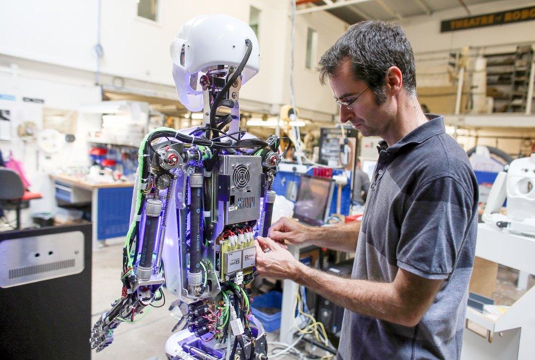Картинки как работают роботы