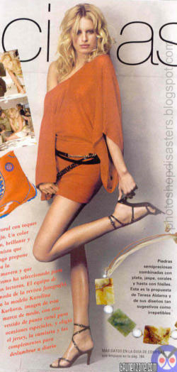 Photoshop Disasters - Where is Her Thigh