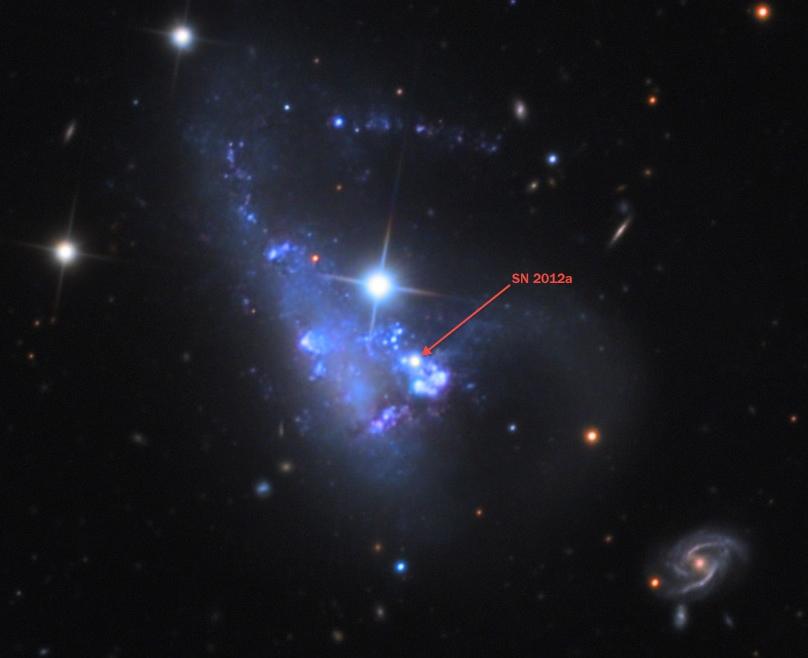 Следующая сверхновая в нашей галактике