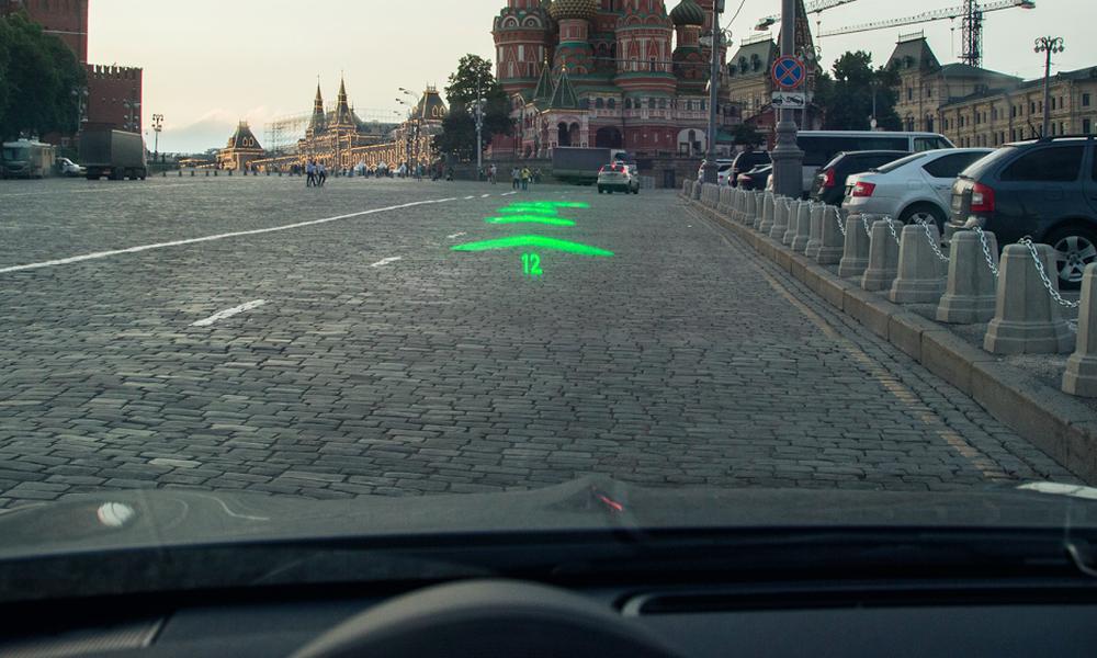Голографическая автомобильная система навигации от российской компании WayRay   Navion | программа навигации Навигация навигационная система навигатор Компания WayRay Голографическая автомобильная система навигации Автомобильная навигация автогаджеты Navion GPS устройства GPS навигация gps навигатор GPS гаджет