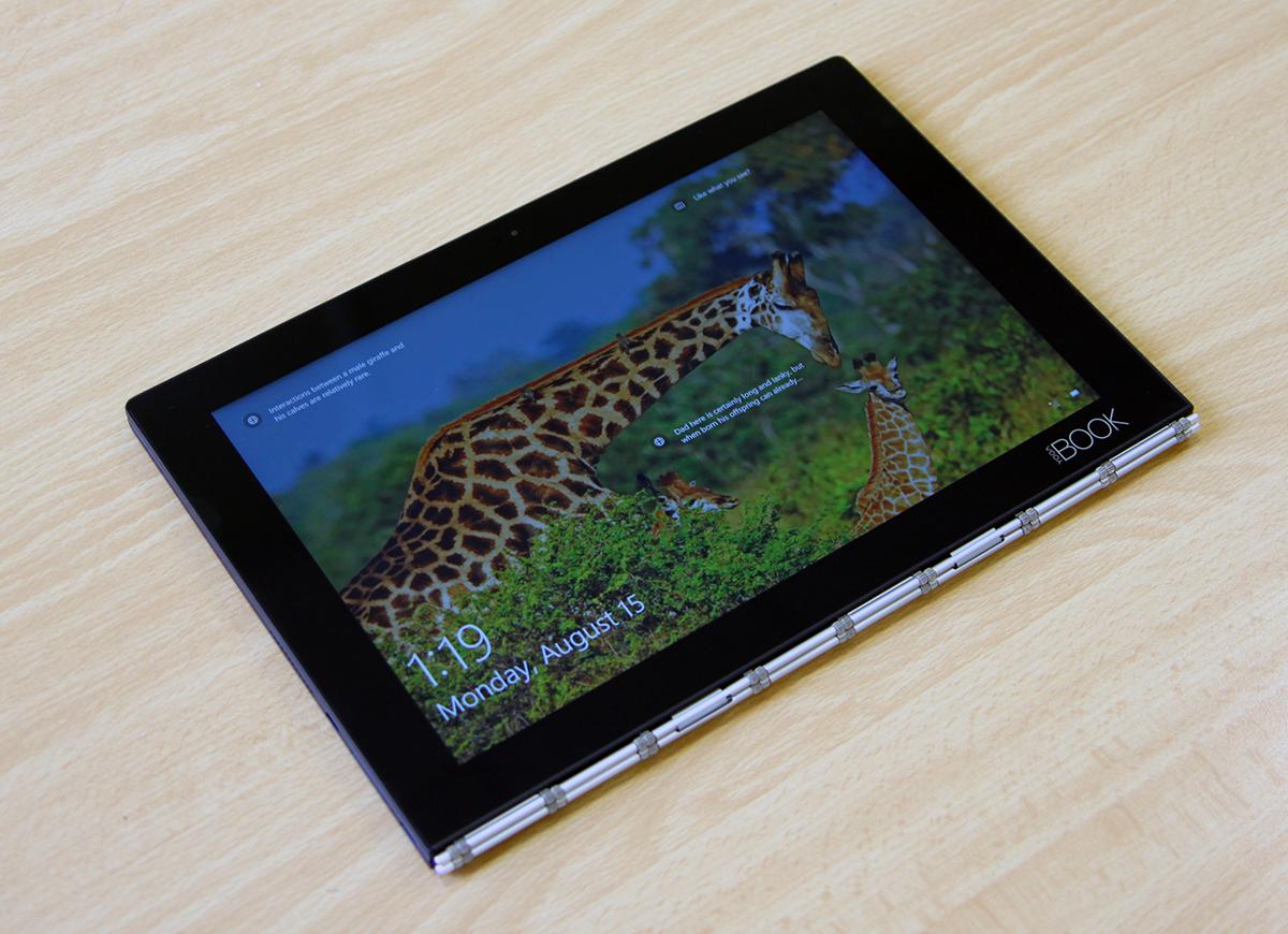 Обзор Lenovo YOGA BOOK — новый класс портативных устройств?
