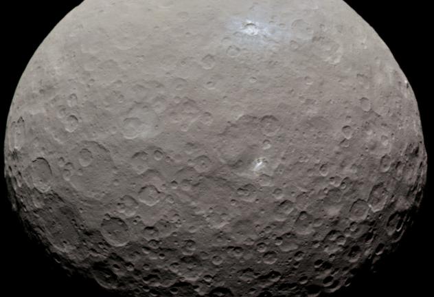 [Перевод] На карликовой планете Церера в прошлом мог существовать океан