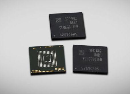 Samsung выпускает первый встраиваемый накопитель объемом 256 ГБ, соответствующий спецификации UFS 2.0