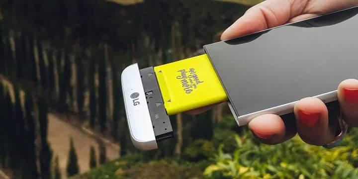 LGпредставила новый смартфон G5