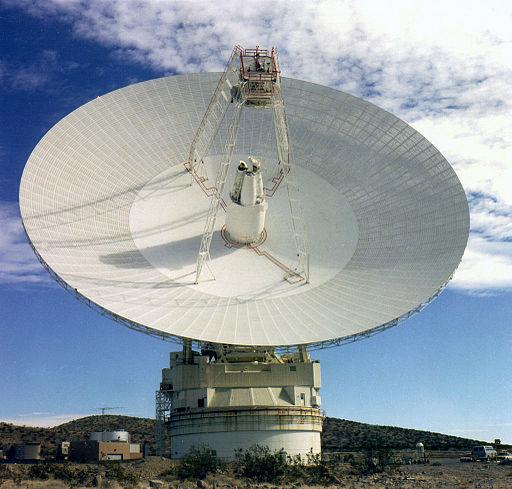70 m Antenna in Goldstone