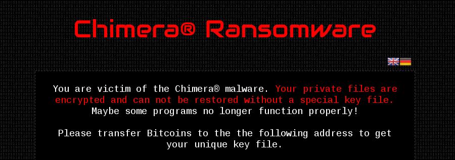 Конкуренты криптовымогателя Chimera «слили» в сеть его ключи шифрования