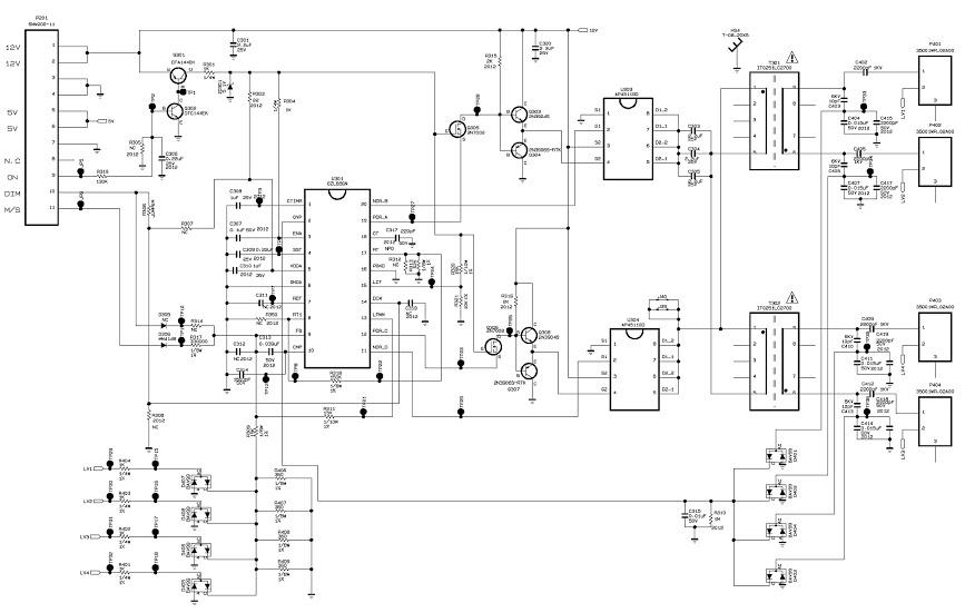 Схемы мониторов lg жк