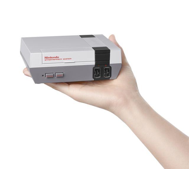 Новая игровая консоль от Nintendo: уменьшенная NES с обновленным контроллером