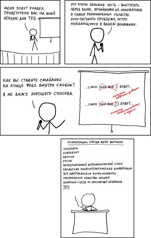 Доклад на TED