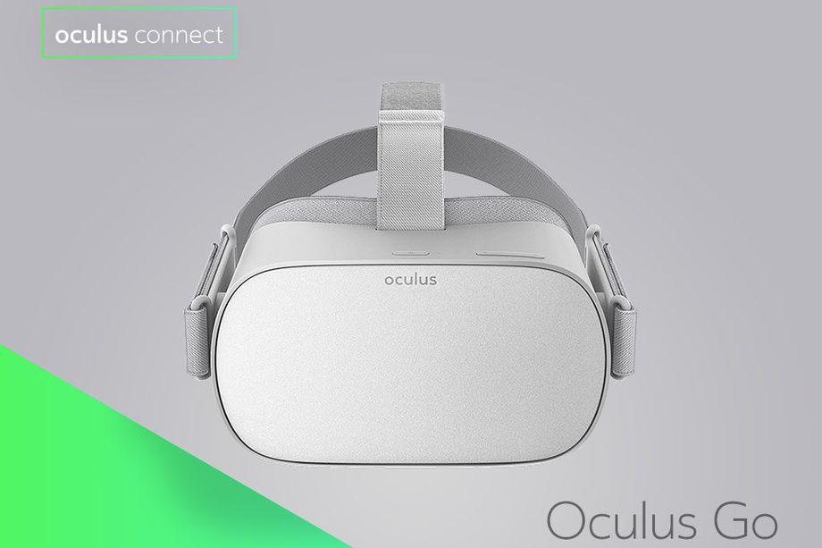 Компания Oculus представила автономный VR-шлем за $200