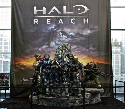 HALO Reach altar
