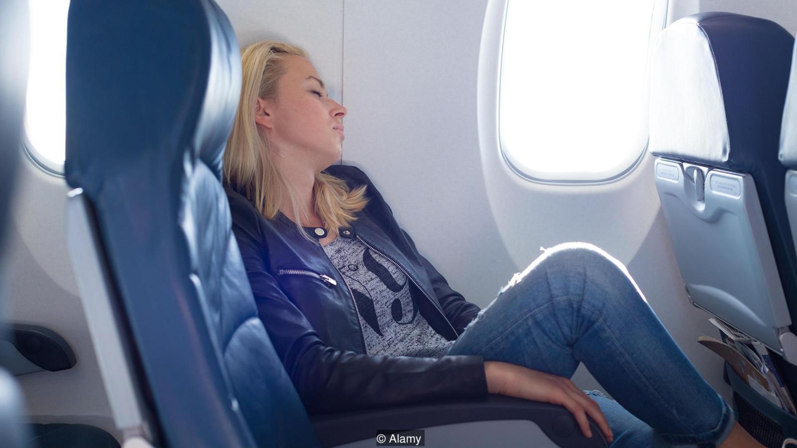 Перелет в самолете при сотрясении мозга