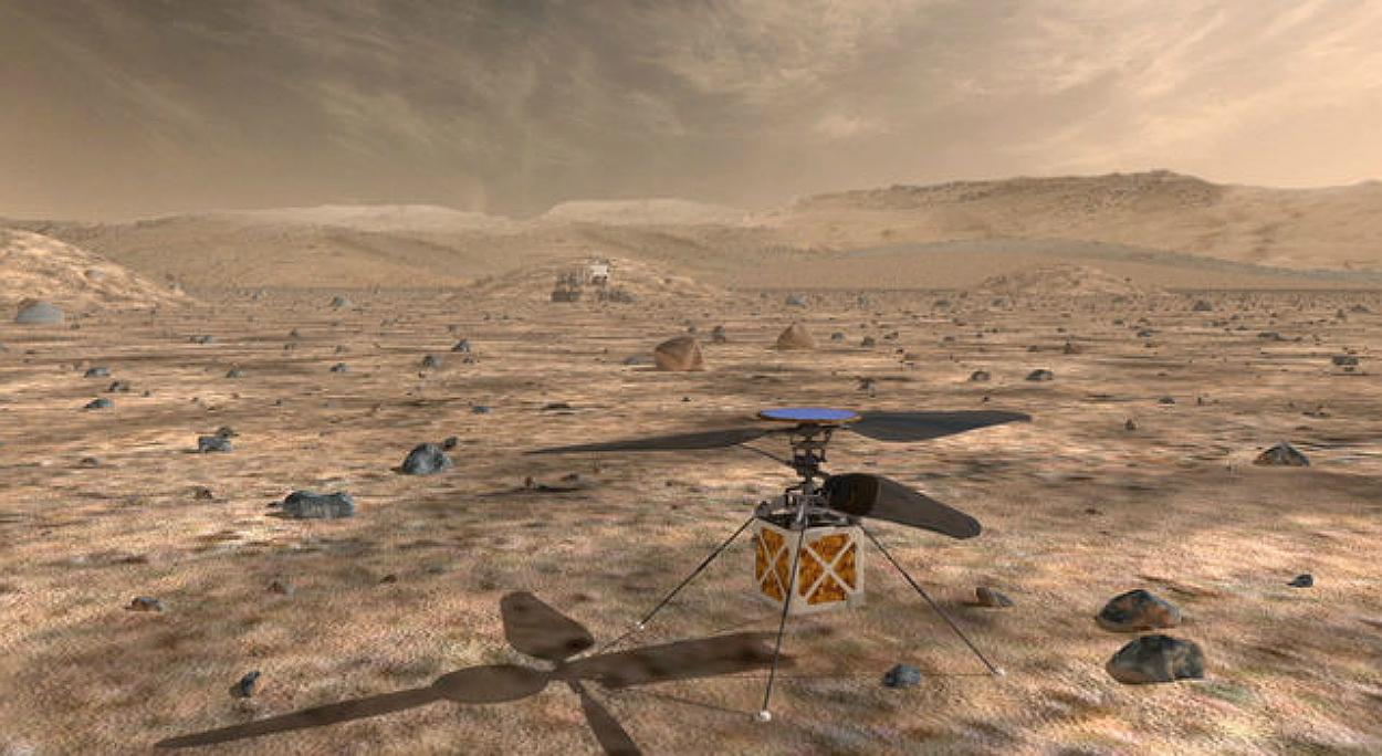Мини-вертолёт всё-таки полетит на Марс