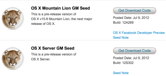 Mountain Lion Xcode OS X Mountain Lion GM ...
