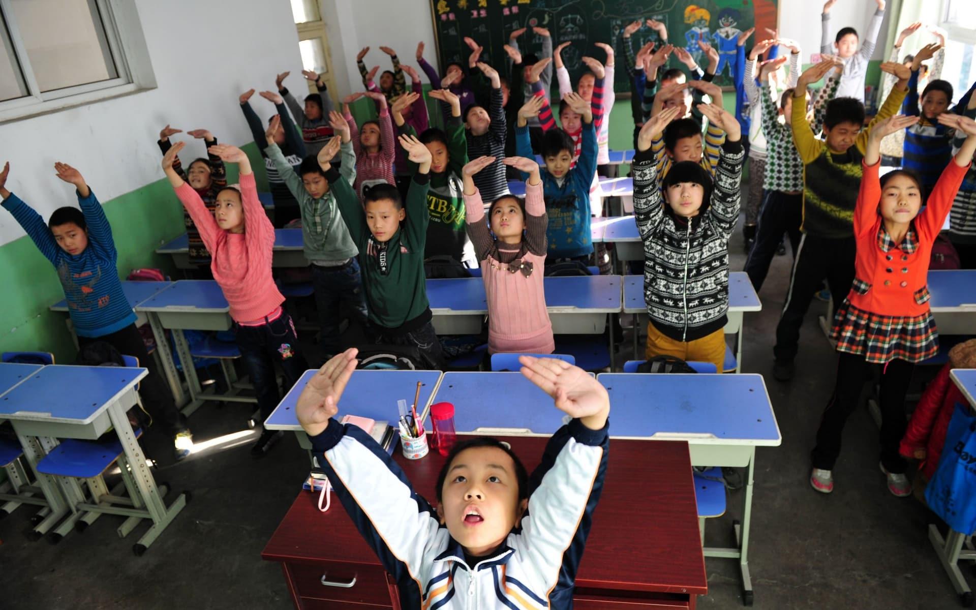 Невнимательных учеников в китайских школах начинают «ловить» при помощи системы распознавания лиц