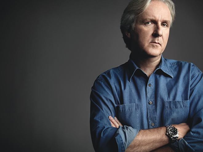 12 years after Titanic James Cameron is betting he can change forever the way you watch movies Photo: Art Streiber