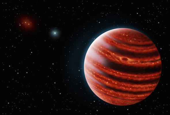 Астрономы нашли юного двоюродного брата Юпитера