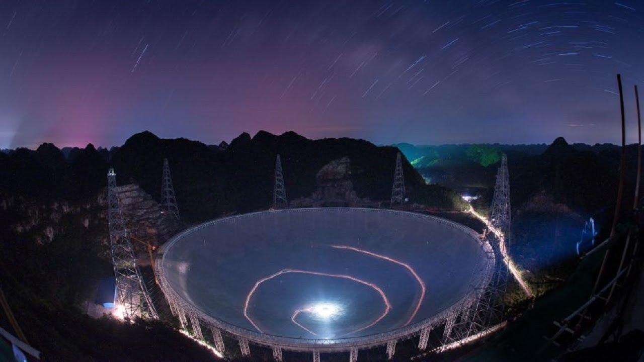 Китай построил самый большой телескоп в мире, но в стране нет специалистов, способных им управлять