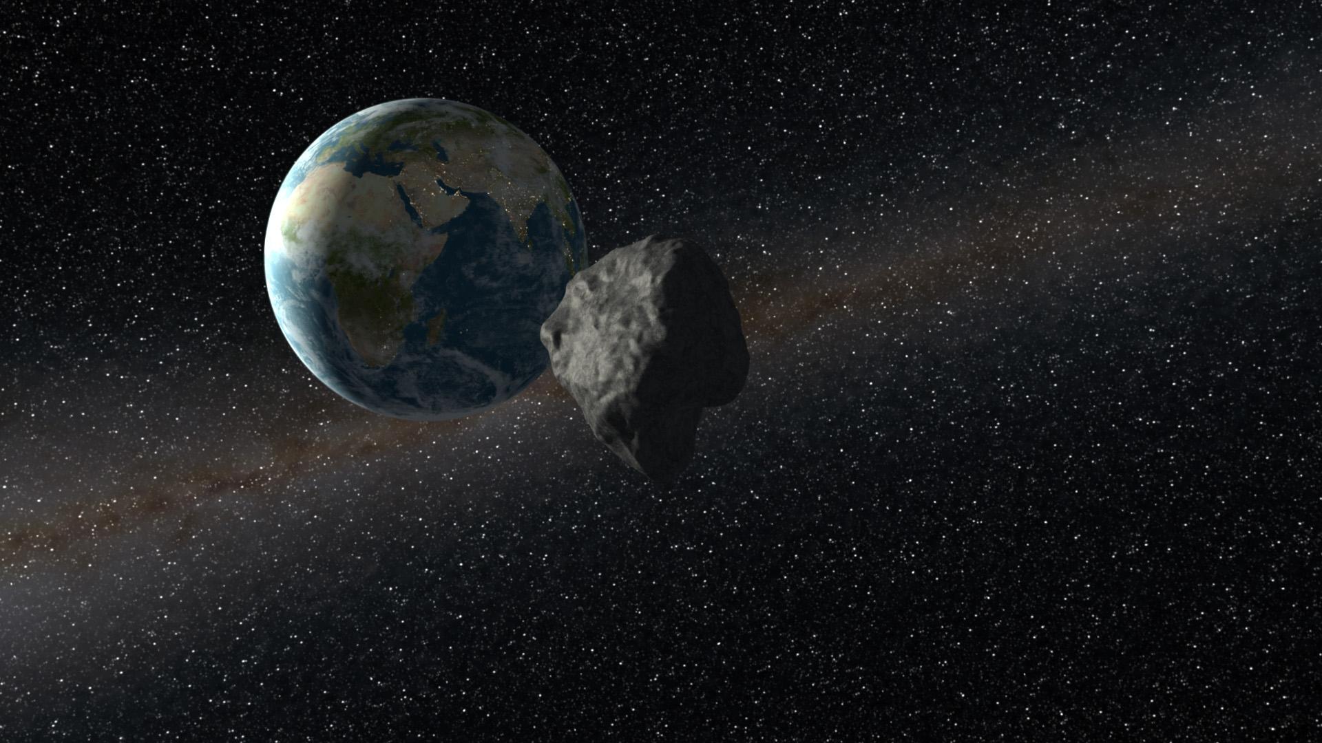 Обои обломки, астероиды, земля. Космос foto 10