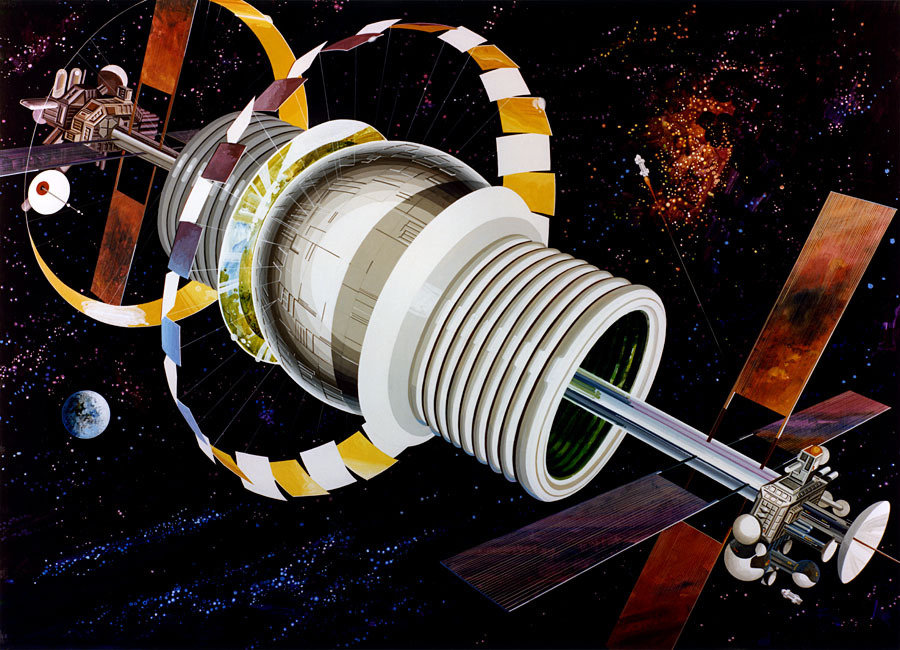 Космические жилища: как мы будем жить в космосе
