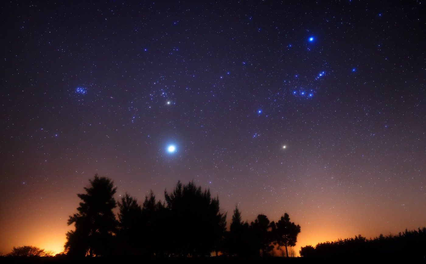фото со звёздами на небе