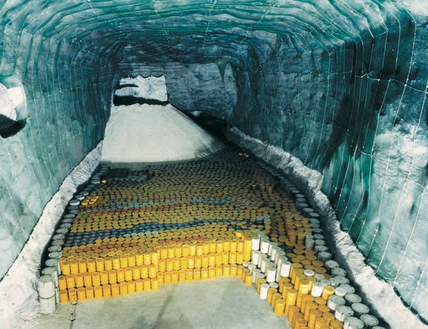 захоронение радиоактивных отходов в недрах земли материал максимально