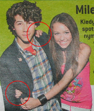 Extra Hand on Miley