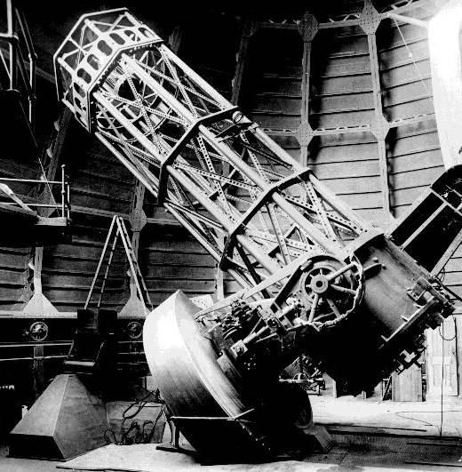 Телескопы 100 лет назад