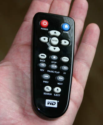 WD TV player remote control