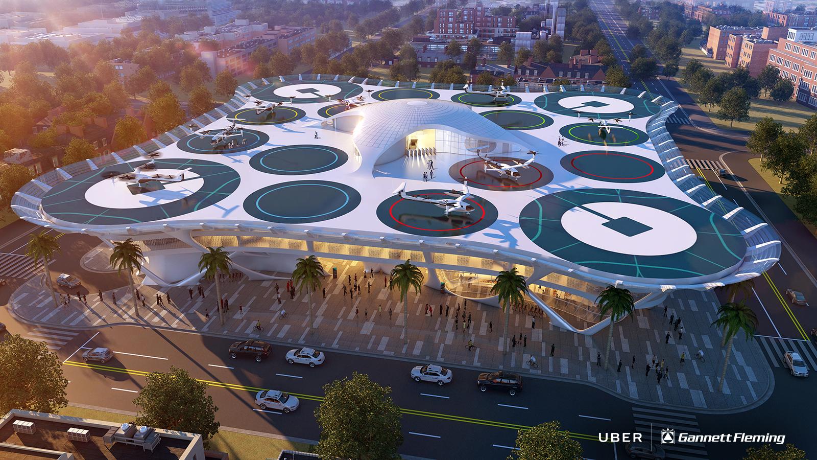 Uber сотрудничает с НАСА по проекту создания пилотируемого такси
