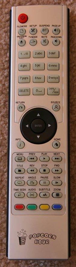 Popcorn Hour Player Remote