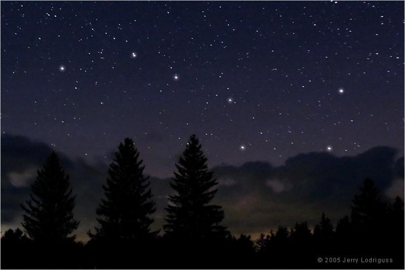 мало звезд на небе картинки этого