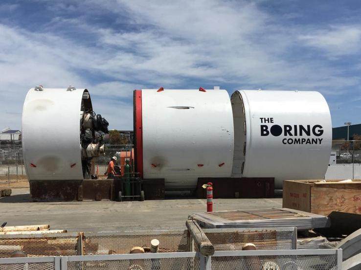 Илон Маск утверждает, что получил разрешение на строительство тоннеля от Нью-Йорка до Вашингтона