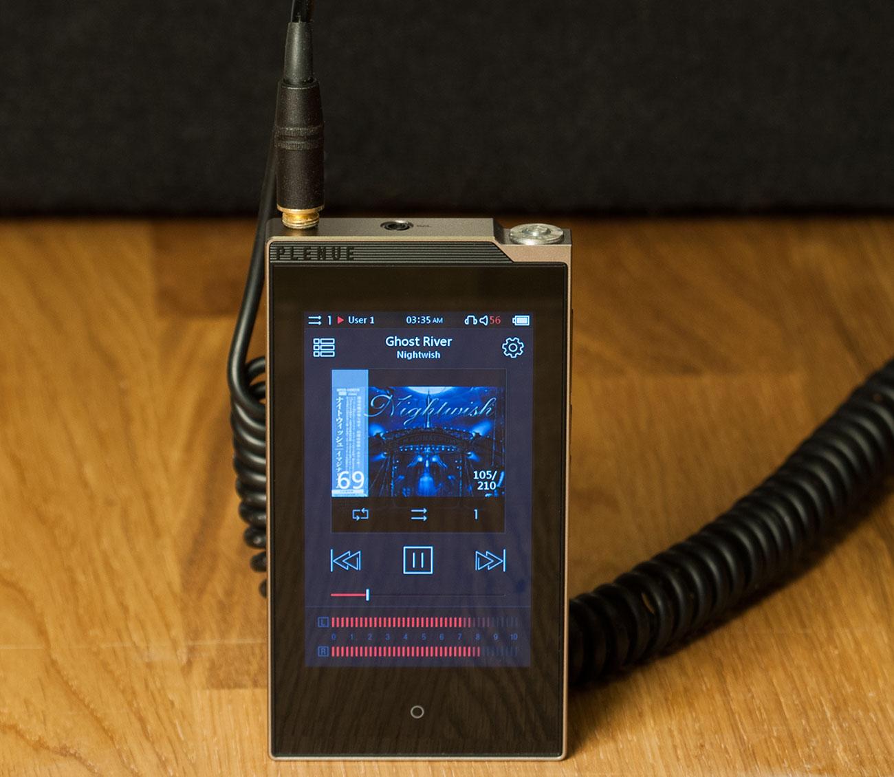 Hi-Fi-слиток: аудиоплеер Cowon PLENUE S