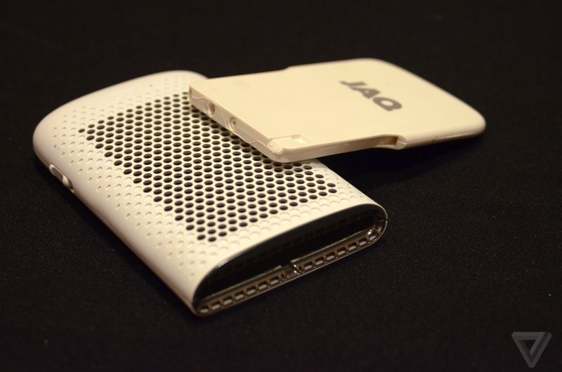 Jaq — smartphone charger on fuel elements
