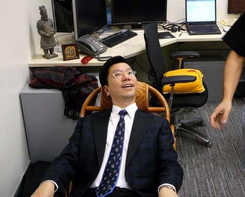 Head of Chinese Mission, Kei-fu Lee