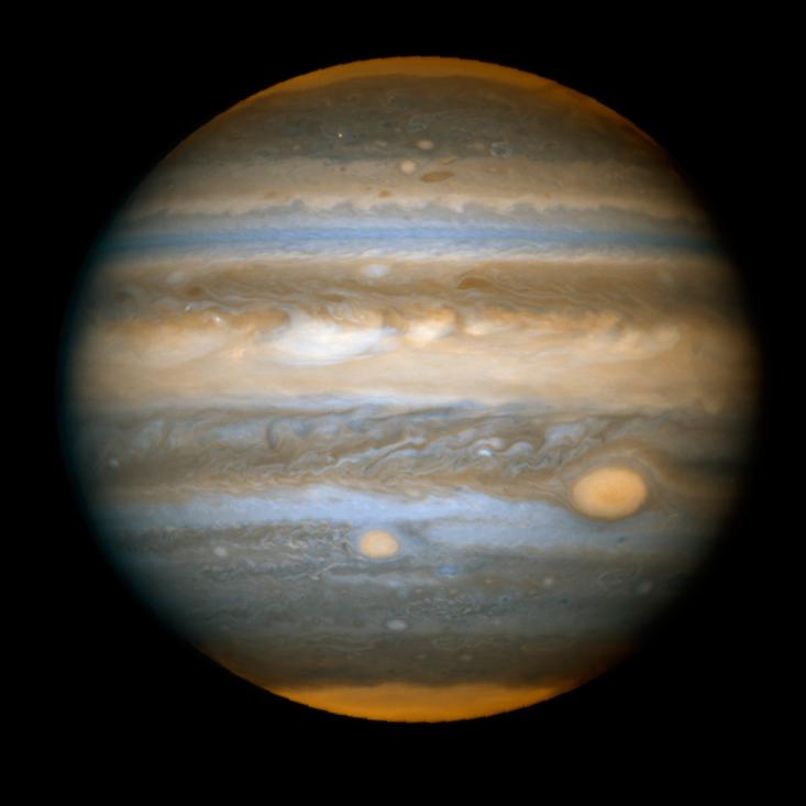 [Перевод] Почему Большое красное пятно Юпитера никак не умрёт