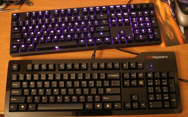 Shining и Das Keyboard S