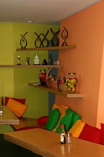 Yandex House: Esszimmer