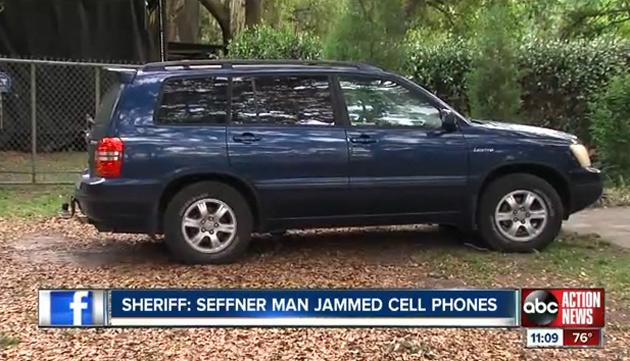 Жителя Флориды оштрафовали на $48 тыс. за использование мощной глушилки сотовых сетей на дороге