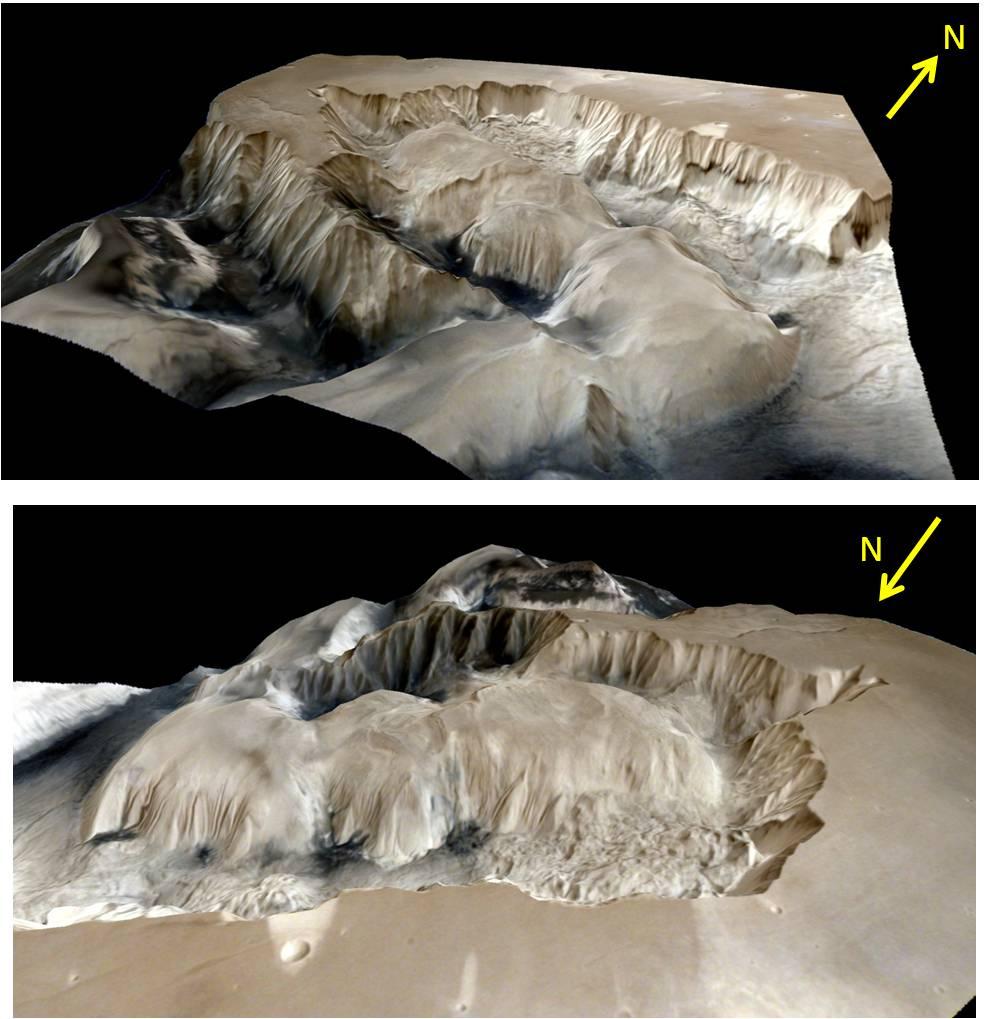Mangalyaan прислал детальные изображения поверхности Марса