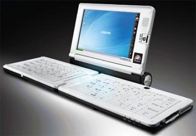 Samsung SPH-9200: ультрамобильный компьютер со складной клавиатурой